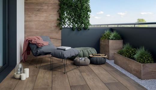 Керамічна плитка на балкон - найкращий вибір