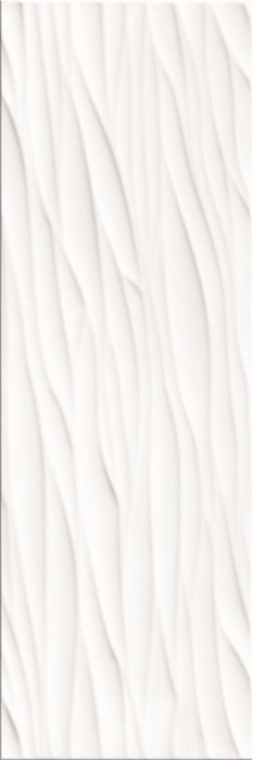 STRUCTURE PATTERN WAVE STRUCTURE WHITE - фото 1