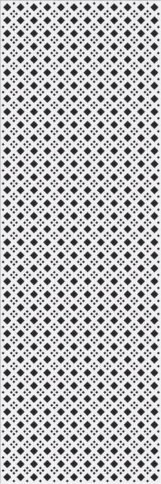 BLACK&WHITE PATTERN D - фото 1