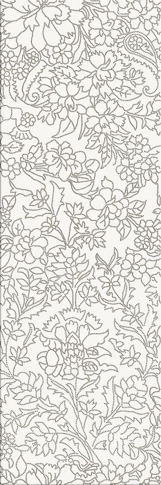 WHITE INSERTO FLOWER - фото 1