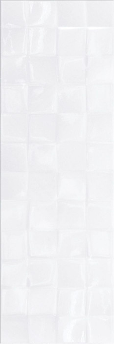 SIMPLE ART WHITE GLOSSY STRUCTURE CUBES - фото 1
