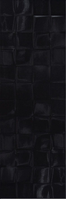 SIMPLE ART BLACK GLOSSY STRUCTURE CUBES - фото 1